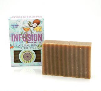 soap, natural, handcrafted, sandalwood, vanilla